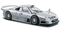 Автомодель Maisto 1:26 Mercedes CLK-GTR street version Серебристый (31949 silver)