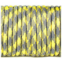 Paracord Type III 550, grey yellow #371 (10 м.)