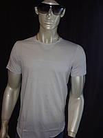 Турецкая однотонная мужская футболка