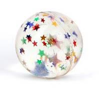"""Мяч-попрыгунчик 5391 """"Звездочки"""" 3,2 см"""