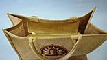 Сумка из мешковины, 42х34х18 см, Сумка  текстильная, Днепропетровск, фото 2