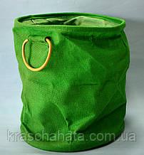 Корзина для игрушек, мешковина, Н39 см, D37 см, декоры для дома, Днепропетровск