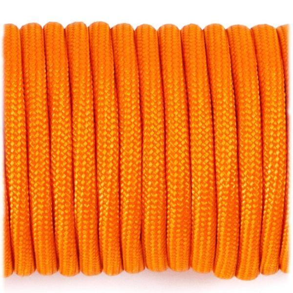 Paracord Type III 550  orange yellow #044 10 м.