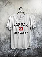 Футболка мужская Jordan 23 (белая)
