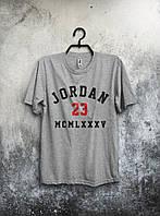 Футболка мужская Jordan 23 (серая)
