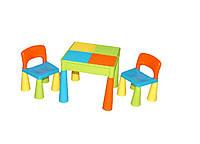 Детский столик и два стульчика Tega Mamut 899 MT-001 с нишей