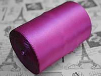 Лента атласная фиолетовая (ширина 10см, намотка 20м)