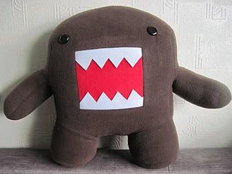 Мягкая игрушка - подушка Домо-кун ручная работа