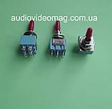 Тумблер MTS-203 трёхфазный (on-off-on), 2 цепи - 6 pin , 3A 250V AC, фото 2