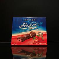 Конфеты в форме сердца Maitre Truffout Hearts с сухим льдом 125г