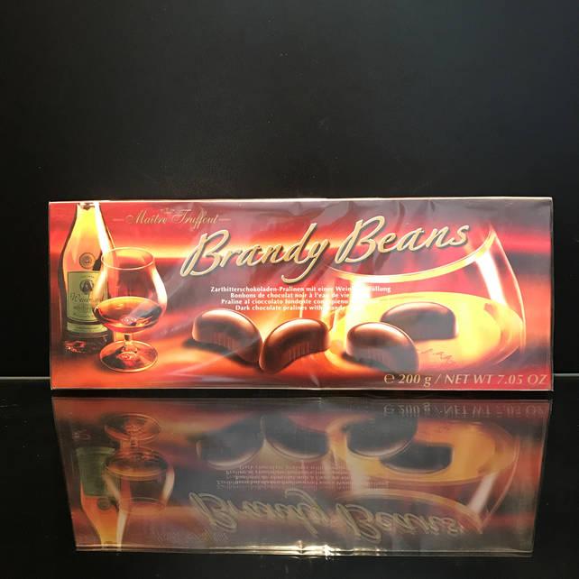 Конфеты с бренди Maitre Truffout Brandy Beans 200г