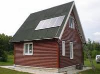 Гибридная солнечная электростанция 0.8 кВт