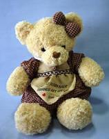 Мишка в платье, 48х22 см, плюш, Подарки, Днепропетровск, фото 1