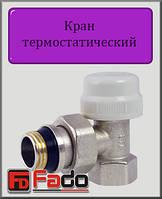 """Кран радиаторный термостатический Fado 3/4"""" угловой"""