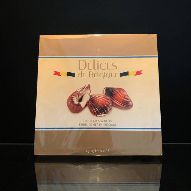 Бельгийские конфеты ракушки Delices de Belgique 250г