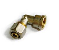 Отвод цанговый 20*1/2 с внутренней резьбой для металлопластиковой трубы