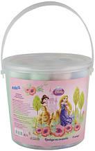 Мел цветной в ведерке Принцессы Jumbo 15 штук