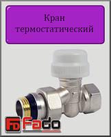 """Кран радиаторный термостатический Fado 1/2"""" прямой"""