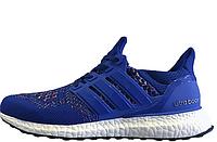 Кроссовки мужские   Adidas Ultra Boost Multicolor Blue  интернет магазин обуви, адидас ультра буст