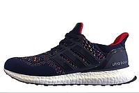 Кроссовки мужские Adidas Ultra Boost Multicolor Dark Navy  интернет магазин обуви, адидас ультра буст