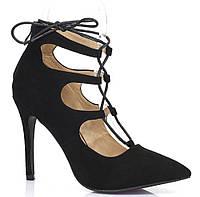 Очень стильные туфли на шпильке