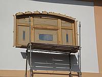 Ремонт и реставрация деревянных окон и дверей.