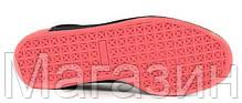 Мужские кроссовки PUMA Suede Staple Black замшевые Пума черные, фото 2