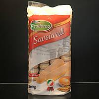 Печенье для тирамису Realforno Savoiardi (Савоярди) 400г Италия