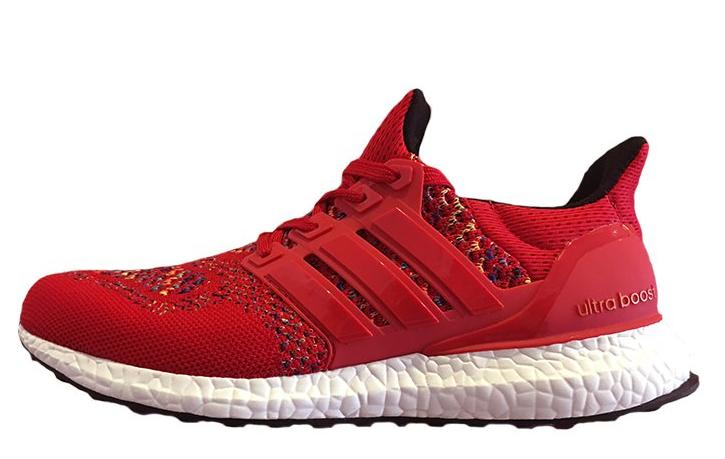 8b5f9cec34d4 Кроссовки мужские Adidas Ultra Boost Multicolor Red интернет магазин обуви,  адидас ультра буст - Интернет