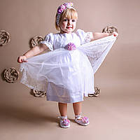 Платье для крещения девочки Лили от Miminobaby от 6-12 месяцев