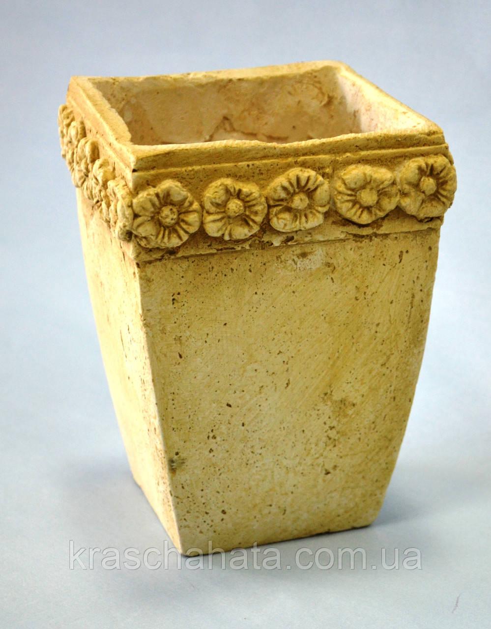 Кашпо, греческий стиль, 19х13х13 см, Декоры для дома, Днепропетровск