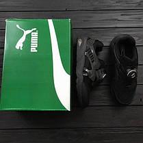 Мужские кроссовки Puma Disc BlazeCT Black черные топ реплика, фото 2