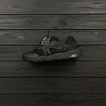 Мужские кроссовки Puma Disc BlazeCT Black черные топ реплика, фото 3