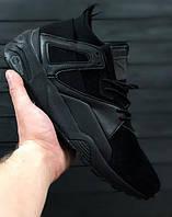 Мужские кроссовки Puma Disc Blaze Citi Series черные топ реплика