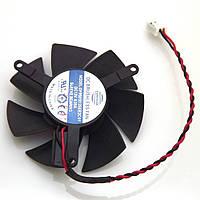 Кулер (вентилятор) для охлаждения видеокарты 45 мм sapphire HD6450