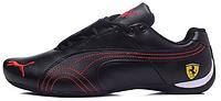 Мужские кроссовки Puma Ferrari (Пума Феррари) черные