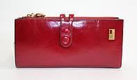 Кожаный женский элегантный кошелек