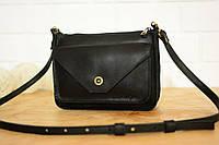 Женская сумка кожа черная