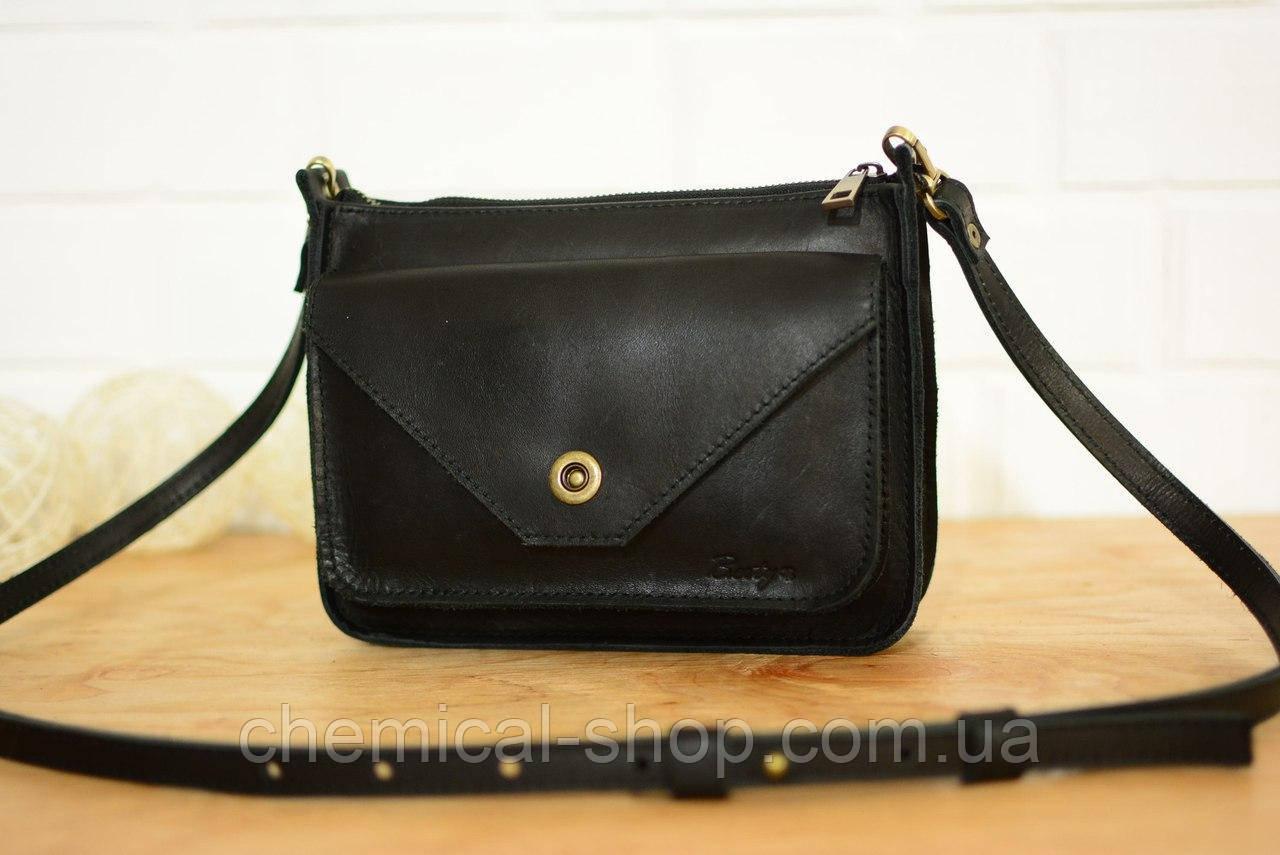Женская сумка кожа черная - Интернет-магазин выгодных цен