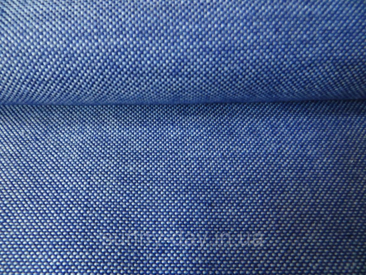 Домотканое полотно, темный джинс, 50*70см