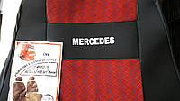 Чехлы на сидения Mercedes Actros, Atego, Axor красные, фото 1