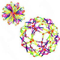 """Мяч изменяющий форму """"  №А-72/МВ-1 ( диаметр 25см) Сфера Хобермана"""