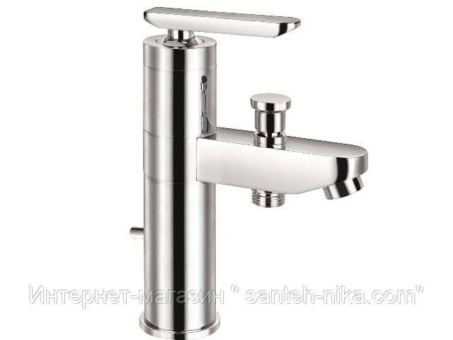 Смеситель для умывальника CAESAR с душем,бортовая ванна