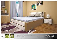 """Деревянная кровать """"Титан-1"""" (ПМ)"""