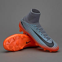 БУТСЫ NIKE MERCURIAL SUPERFLY V CR7 FG 852483-001 JR (Оригинал)