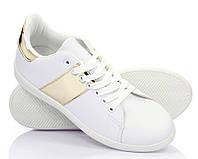 Польские женские кеды, кроссовки на шнурках, липучках