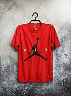 Футболка мужская Nike Air Jordan (красная)