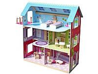 Деревянный кукольный домик LESLIE, фото 1