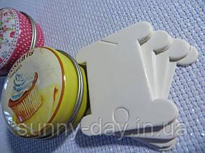 Шпули (бобинки) для намотки-хранения мулине картонные (10шт)