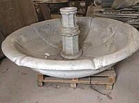 Эксклюзивный мраморный фонтан, 3-х ярусный, с подсветкой ; мраморные слябы, мраморная плитка, станки для обраб